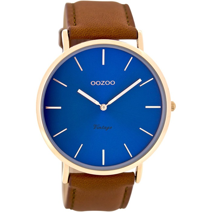 Oozoo Timepieces Vintage C8138 Ρολόι ανδρικό -GEORGATOS.gr c0c6c293b9f