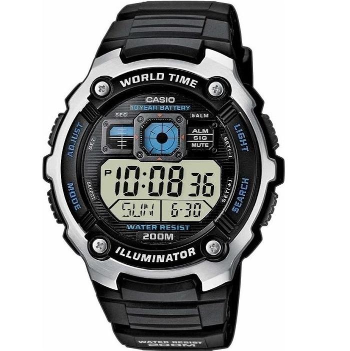 casio digital ae-2000w-1avef