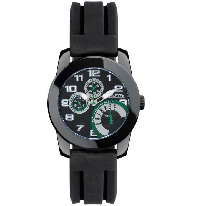 Ρολόι ανδρικό Lancaster Multifunction OLA0462NRSLNR με Rubber και μαύρο  καντράν 00ceeb5c2bd