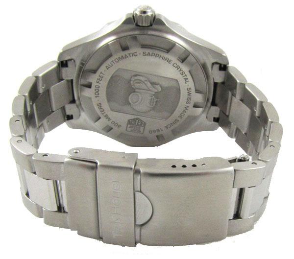 Ρολόι ανδρικό Tag Heuer Aquaracer 2000 WAB2011.BA0803 Automatic με μπρασελέ  και μπλε καντράν c209a424b50