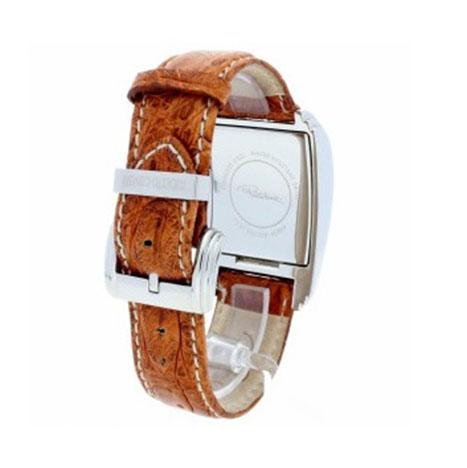 Ρολόι γυναικείο Roberto Cavalli R7251955025 με δερμάτινο λουρί και λευκό  καντράν 35c8635f81d