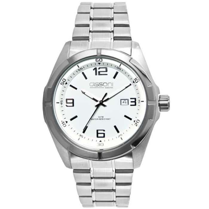 Dissoni D91924 1 Ρολόι ανδρικό με μπρασελέ -GEORGATOS.gr 5d3967b7483