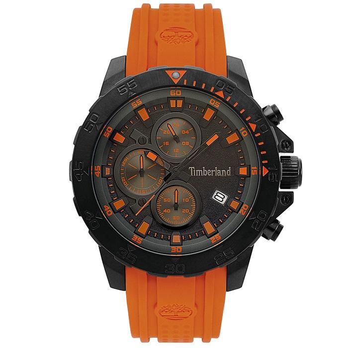 Ρολόι ανδρικό Timberland Westerdale TBL15360JSB02P με Rubber και μαύρο  καντράν 2dcb343c555