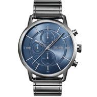 Ρολόι ανδρικό Hugo Boss Architectural 1513574 με μπρασελέ και μπλε καντράν 638ebe114da