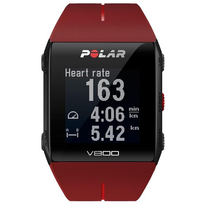 polar V800 red