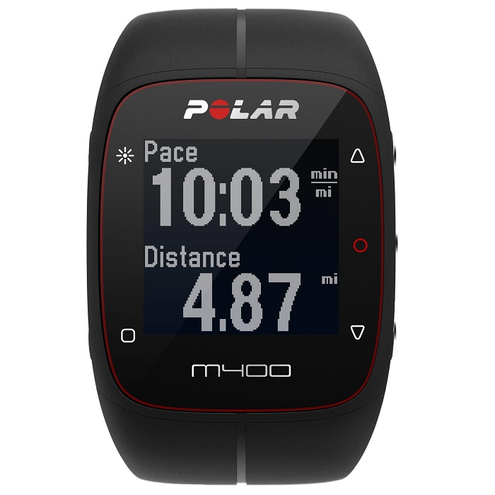 polar m400hr black