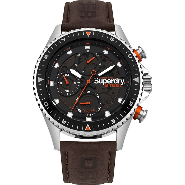 superdry steel officer SYG220BR