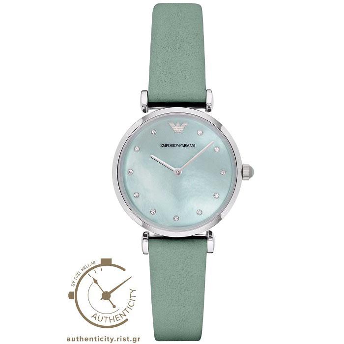 Emporio Armani Crystals AR1959 γυναικείο ρολόι-GEORGATOS.gr 7b6c9457b61