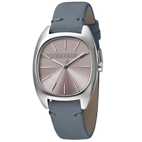 Ρολόι γυναικείο Esprit Infinity ES1L038L0045 με δερμάτινο λουρί και μπλε  γκρι καντράν 17f03788baa