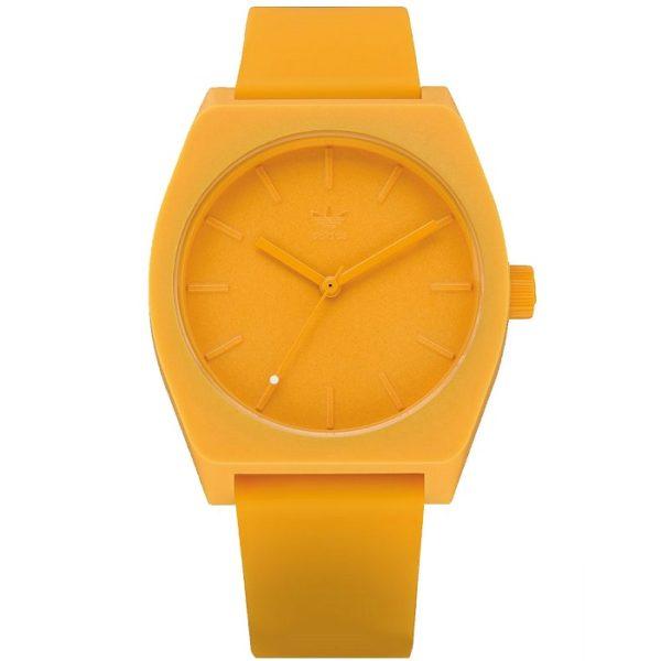 Ρολόι ανδρικό Adidas Process SP1 Z10-2903-00 με rubber και κίτρινο καντράν 16133e10a31