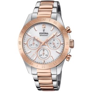 festina diamond f20398-1 chronograph