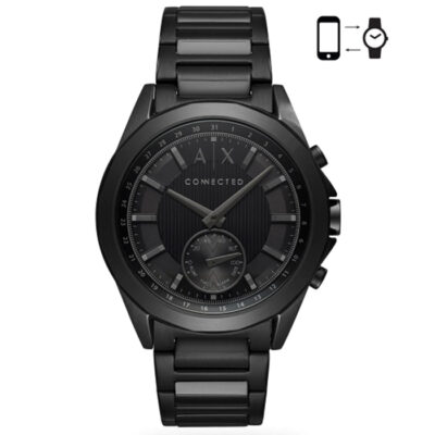 armani exchange hybrid smartwatch axt1007