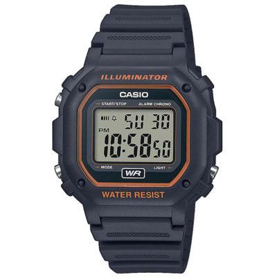 Ρολόι Unisex Casio Standard F-108WH-8A2EF με Rubber και ψηφιακό καντράν e47ced60a54