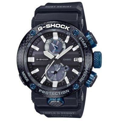 7867194d2a Ρολόι ανδρικό Casio G Shock Triple Resist GWE-B1000-1A1ER με Rubber και  μαύρο καντράν