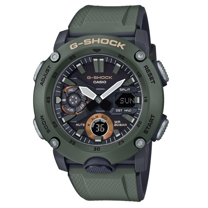 Casio G Shock GA-2000-3AER