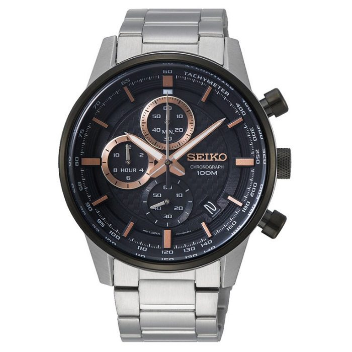 seiko chronograph ssb331p1