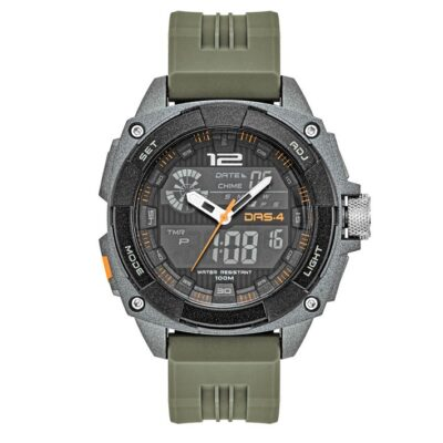 Das.4 LD11 Khaki LCD watch 40049
