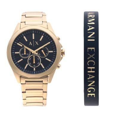 Armani Exchange Chronograph Set AX7116