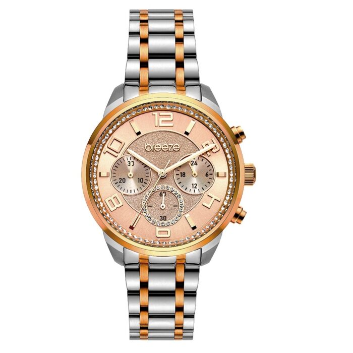 Breeze Myrina Two Tone Chronograph 712211.4