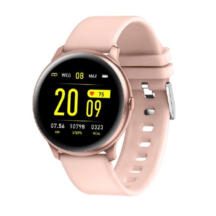 JAGA Pink Smartwatch JS11